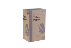 "Table Paper Crepe 18"" x 125' Case of 12 Rolls"