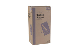"Table Paper Crepe 21"" x 125' Case of 12 Rolls"