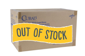 (Out of Stock) Medium Curad Nitrile Gloves, 10 Boxes/Case