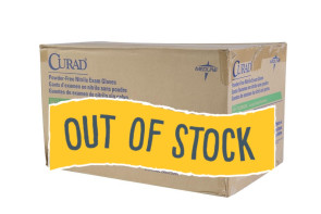(Out of Stock) Large Curad Nitrile Gloves, 10 Boxes/Case