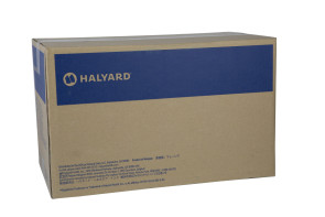 Medium Halyard Purple Nitrile Gloves, 10 Boxes/Case