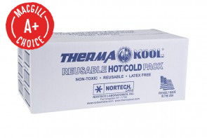 "3"" x 5"" Therma Kool Reusable Cold/Hot Packs, 125/Case"