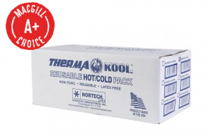 "4"" x 9"" Therma-Kool Reusable Cold/Hot Packs, 50/Case"