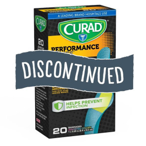 (Discontinued)Curad Performance Anti-Bacterial Bandage 20/Bx
