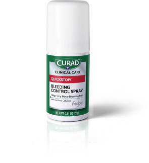 Curad Quickstop Blood Clotting Spray, 1.69 Oz