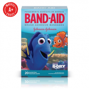 Band-Aid® Finding Dory Assorted Bandages, 20/Box
