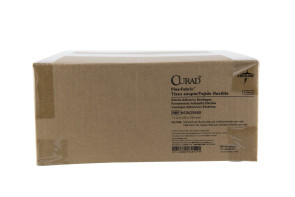 "Curad 1"" x 3"" Flexible Fabric Bandages, 12 Boxes/Case"
