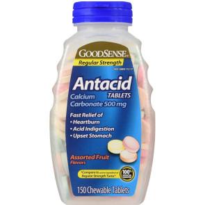 Generic Antacid Tablets Assorted Flavors, 150/Bottle