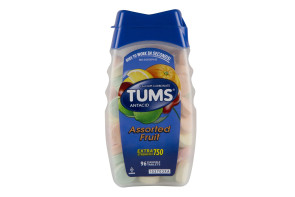 Tums Extra-Strength 750 Tablets, 96/Bottle