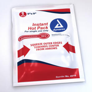 "Economy 5"" x 9"" Instant Hot Packs, 24/Case"