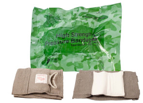 "4"" Emergency High Strength Pressure Bandage"