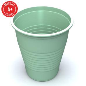 Economy Mint Green 5oz Plastic Cups, 50 per sleeve