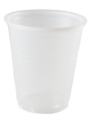 Economy Clear 5 oz Plastic Cups, 2500 per Case