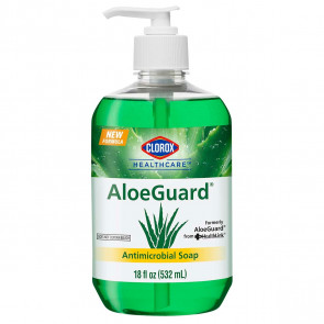 AloeGuard Antimicrobial Soap, 18 oz Bottle