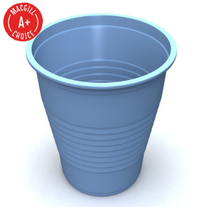 Economy Blue 5oz Plastic Cups, 1000 per case
