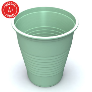 Economy Mint Green 5oz Plastic Cups, 1000 per case