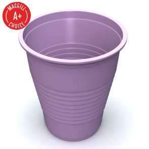 Economy Lavender 5oz Plastic Cups, 1000 per case