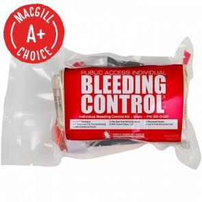 NAR Individual Bleeding Control Kit, Basic, Vacuum Sealed