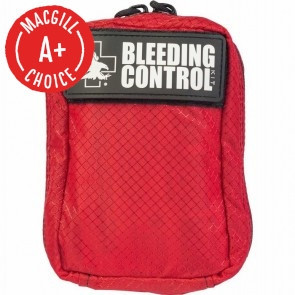 NAR Individual Bleeding Control Kit, Advanced BCD, Nylon Bag