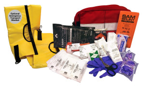 Certified Safety Mfg. Active Shooter Kit with Soft Stretcher