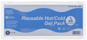 """Economy Reusable Hot & Cold Gel Pack, 5"""" X 11"""""""