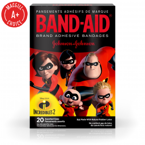 Band-Aid® Incredibles Assorted Bandages, 20/Box