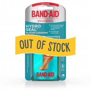 (Out of Stock) Band-Aid® Hydro Seal™ Med Blister Cush, 5/Bx