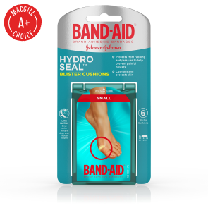 Band-Aid® Hydro Seal™ Small Blister Cushions, Assorted 6/Box