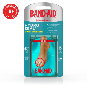 Band-Aid® Hydro Seal™ Corn Cushions, Medium, 10/Box