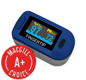 Fingertip Pulse Oximeter, Latex-Free