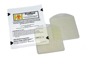 H & H DualSeal™ Chest Seal, 2/pack