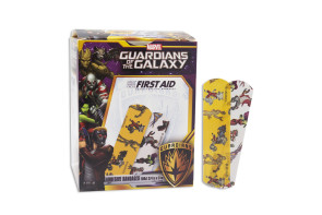 "Guardians of the Galaxy, 3/4"" X 3"", 100 per box"