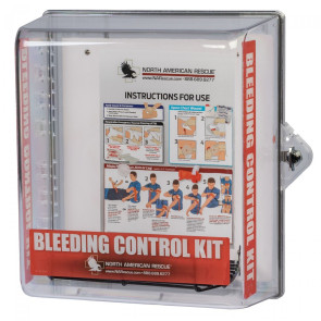 NA Rescue Bleeding Control Clear Wall Case