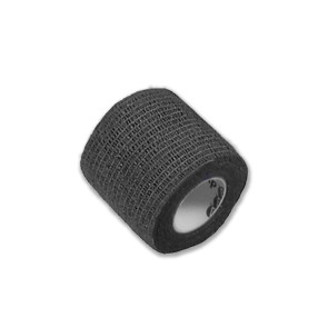 "Economy Latex Self-Adherent Wrap, 2"" x 5 Yards, Black"