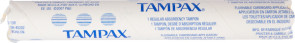 Tampax Tampons with Cardboard Applicator, 500/Case