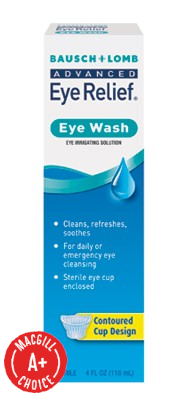 Bausch & Lomb Advanced Eye Relief Eye Wash & Cup