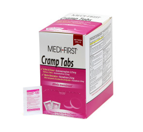 Cramp Tabs, 50 packs of 2