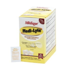 Medi-Lyte Heat Relief Tablets, 50 packs of 2