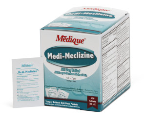 Medi-Meclizine, 50mg (25mg per tablet), 50 packs of 2