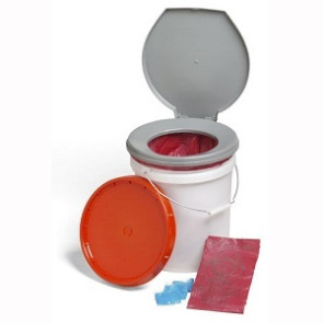 LifeSecure™ Store-A-Potty Emergency Toilet Kit