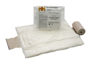 "H & H Big Cinch Abdominal Bandage, 12"" x 16"""