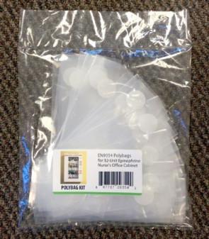 AEK 32-Unit Ephinephrine Polybag/Velcro Refill Kit, 40/Pack