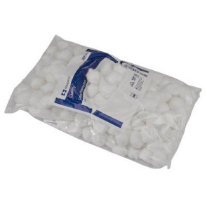 Medium Non-Sterile Cotton Balls, 500/Bag