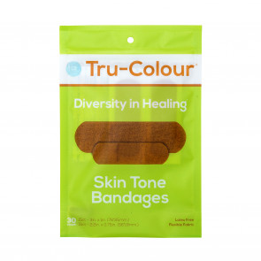 Tru-Colour® Flexible Fabric Bandages, Green Pack, 30/Bag