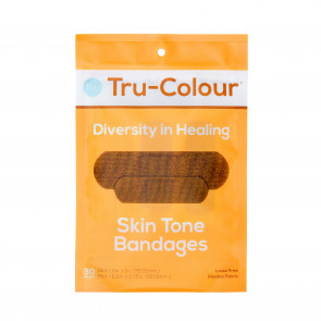 Tru-Colour® Flexible Fabric Bandages, Orange Pack, 30/Bag