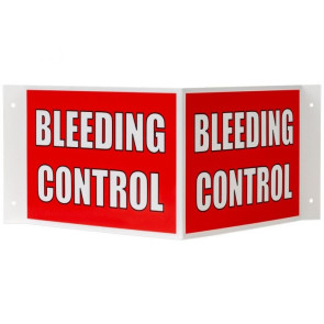 3- Way Bleeding Control Sign