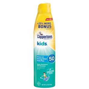 Coppertone®  Kids Sunscreen, SPF 50, 5.5 oz. Spray