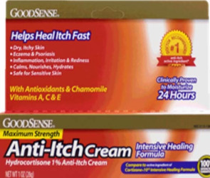 Anti-Itch Hydrocortisone 1% Cream Intensive Healing Formula