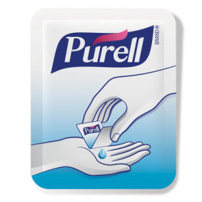 Purell® Singles™ Single-Use Hand Sanitizer Packets, 2000/cs