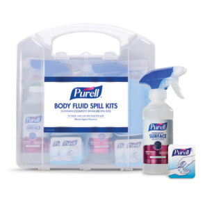 Purell® Body Fluid Spill Kit, 2 Kits/case